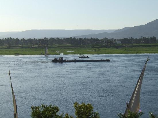 Steigenberger Nile Palace Luxor: Room with a view!