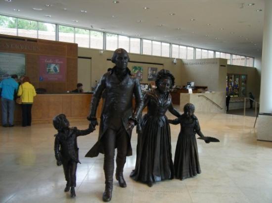 Mount Vernon, เวอร์จิเนีย: The Washingtons