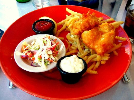 Arnie's Restaurant & Bar - Mukilteo: Fish and Chips