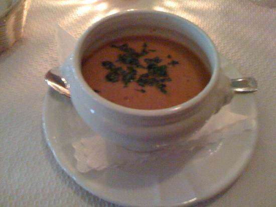 Restaurant Julien: Carrot & Chilli Soup