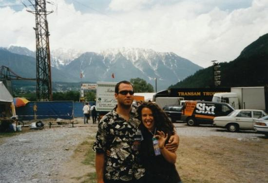I was once (actually twice) a roadie for the Rolling Stones.  Imst, Austria