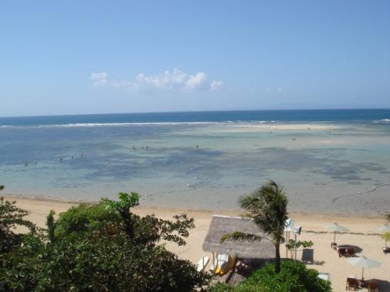 The Oasis Beach : at The Oasis Boutique Beach Resort, Nusa Dua Bali.