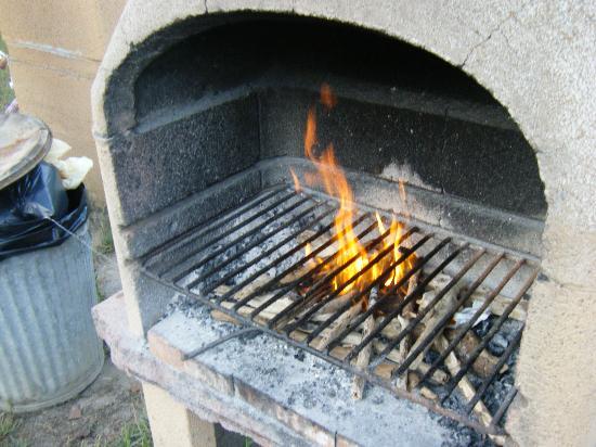 Argentario Camping Village: Tentativi di grigliata (portati a termine!)