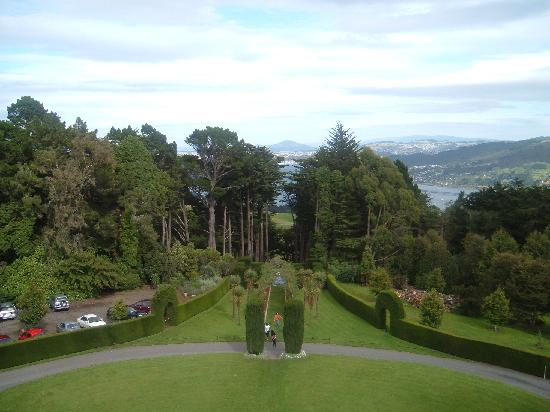 Larnach Castle & Gardens : View From Outside Larnarch Castle