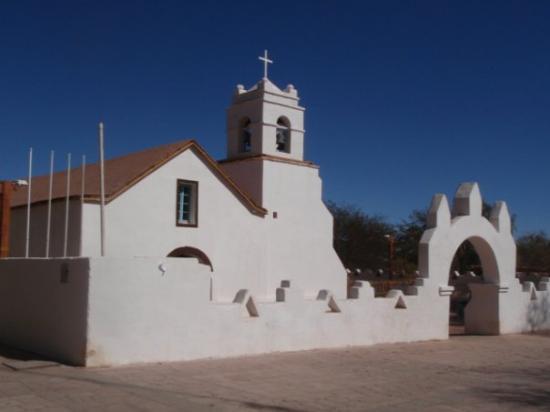 Church of San Pedro de Atacama ภาพถ่าย