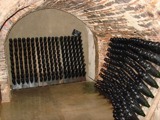 Epernay, Francia: Nice cellar, not mine unfortunately.