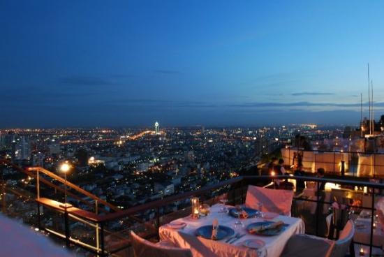 Vertigo Grill and Moon Bar: Le vertigo de Bangkok