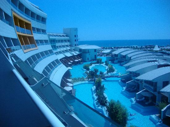 Cornelia Diamond Golf Resort & Spa: vue de notre chambre