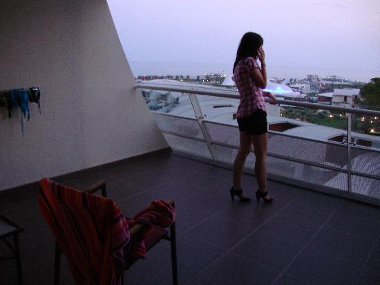 Cornelia Diamond Golf Resort & Spa: balcon