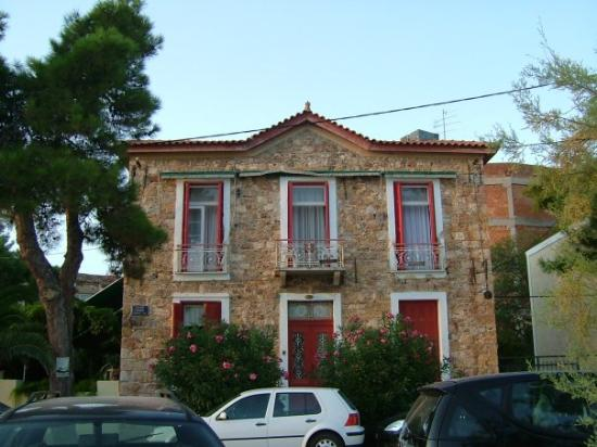Edipsos, Grèce : The house.