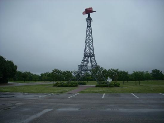 The Paris, Texas, Eiffel Tower: Saw the Eiffel Tower and everything!