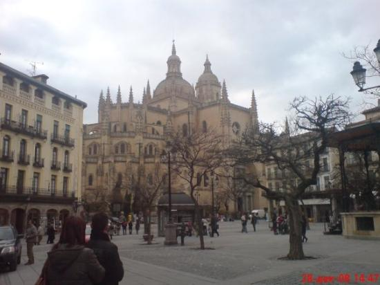 Plaza Mayor: Segovia,Spain