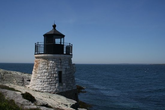 Ньюпорт, Род Айленд: Castle Hill Lighthouse - Newport RI