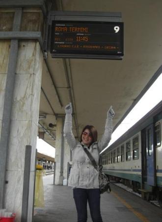 Stazione Termini: i'm going to Roma Termini next~
