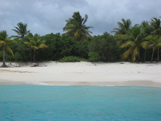 Cruz Bay, Saint-John : Sandy Cay