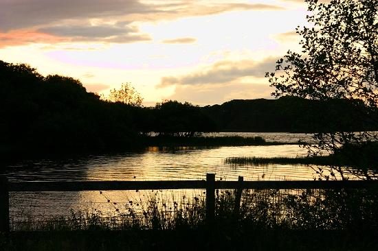 St Kyrans Country House & Restaurant: Lough Ramor in the late evening