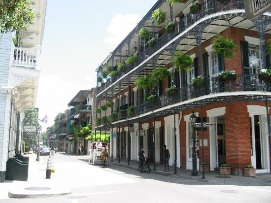 bourbon street bar picture of new orleans louisiana. Black Bedroom Furniture Sets. Home Design Ideas