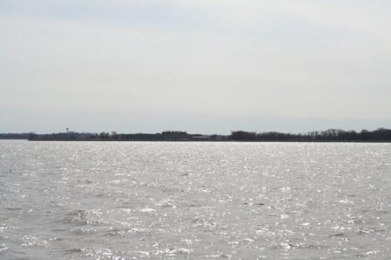 Pennsville, NJ: Fort Delaware out on Pea Patch Island