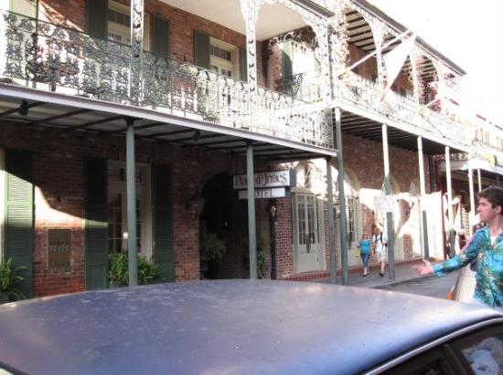 New Orleans La Haunted Hotel