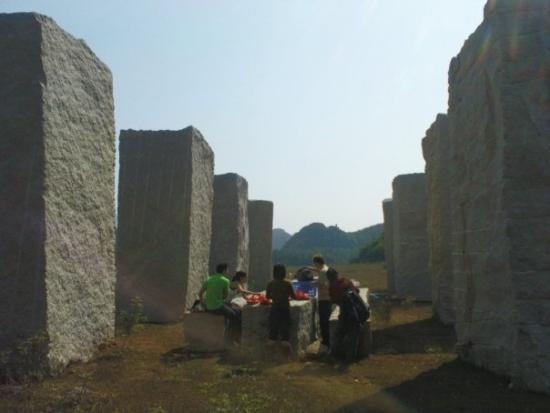 Club Med Guilin: Picnic by the Columns