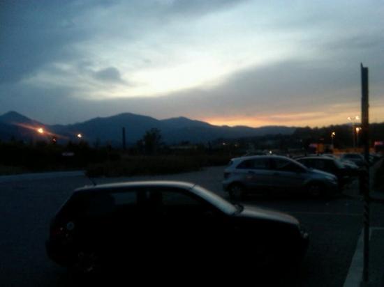 Aulla sunset