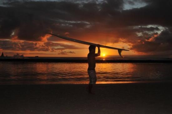 Waikiki Beach: fatta in un sec la foto più bella della vacanza