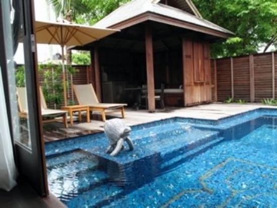 Anantara Mai Khao Phuket Villas: private pool and sala :)