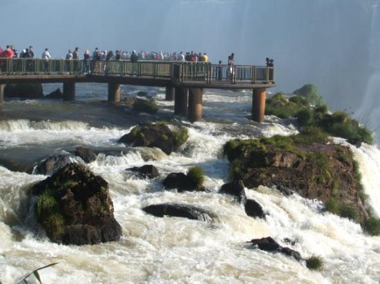 Puerto Iguazú, Argentina: cataratas octubre 2008