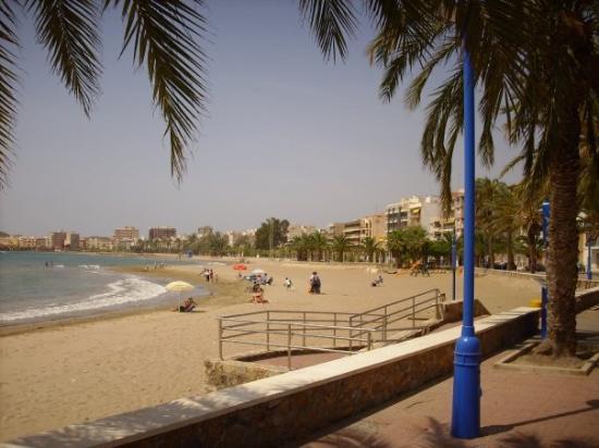 Playa del puerto de mazarr n picture of puerto de mazarron mazarron tripadvisor - Hotel la cumbre puerto de mazarron spain ...