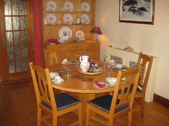 Elderberry Bed and Breakfast : Breakfast area