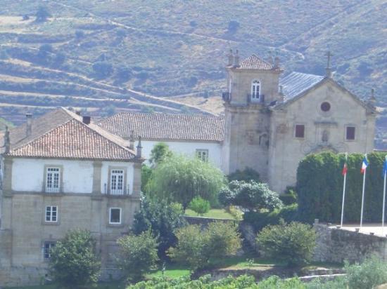Peso da Régua, Portugal: Convento S. Pedro das Águias, Tabuaço - quinta da familia materna nos bons velhos tempos e onde