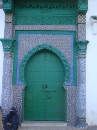 Tangier, Morocco: A Beautiful Mosque Door.