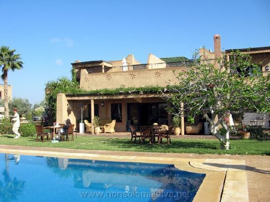 Bled Al Fassia : piscina dell'Hotel
