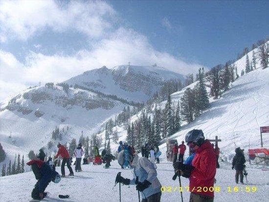 Jackson Hole Mountain Resort: top of the mountain