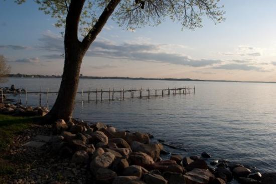 Lake Mendota: Burrows Park, Madison, WI
