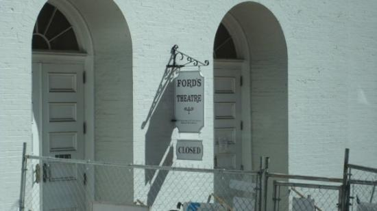 Ford's Theatre: Fords Theater the sight of Lincoln's assassination.