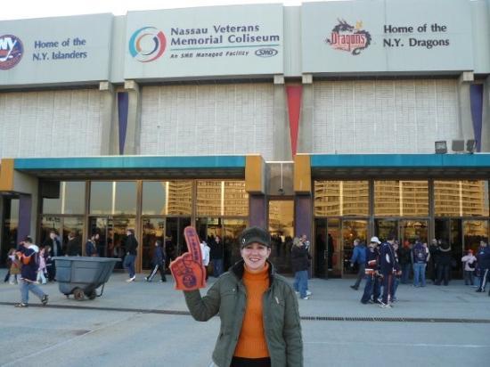 Nassau Veterans Memorial Coliseum : NHL