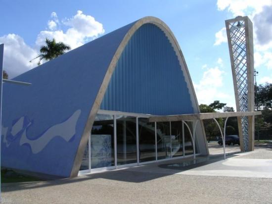 2005: Belo Horizonte: pampulha en de san fransisco kerk