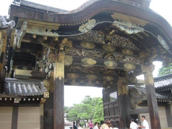 ปราสาทนิโจ: Nijo Castle in Kyoto : gate