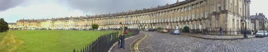 Royal Crescent: Panoramic View