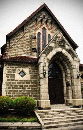 Sandakan, Malaysia: (St.Michael Church) Another version process with noise, sepia, high contrast, n vignett effect.