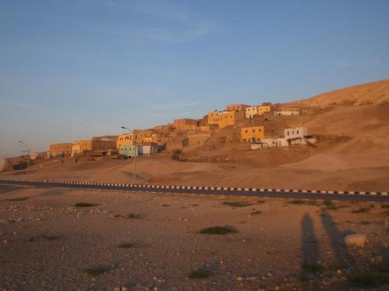 Qurna Village Aufnahme