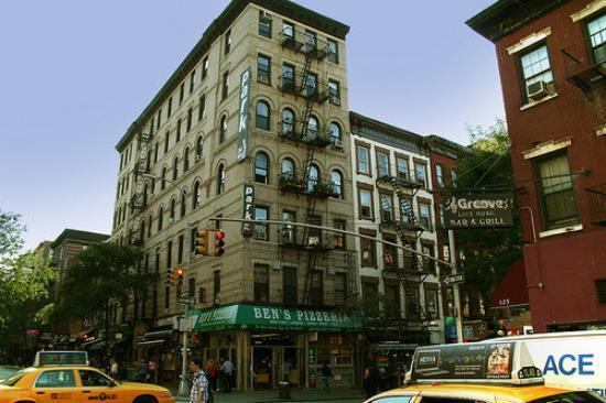 """""""New York"""" Greenwich Village, New York."""