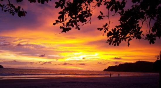 Playa Manuel Antonio : Manuel Antonio Sunset