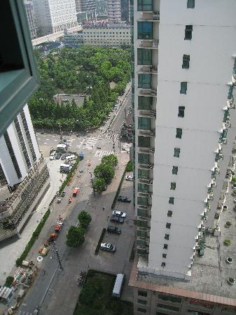 New Harbour Service Apartments: view from the 22e floor