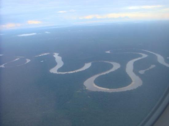 Iquitos, Pérou : Amazon River