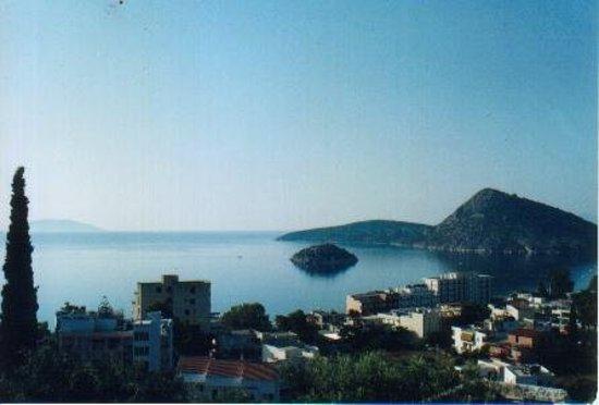 Plage de Tolo : esta es al vista desde nuestro cuarto en Tolo Grecia