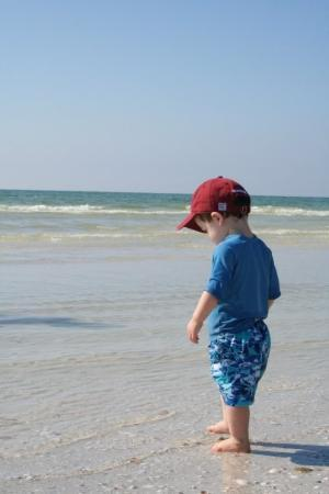Pass-a-Grille: Walking into the Gulf of Mexico!