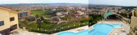 ติรานา, แอลเบเนีย: View from the hill overlooking Tirana