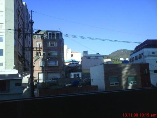 Toyoko Inn Busan Station No.2: view from room during kores trip 'o8
